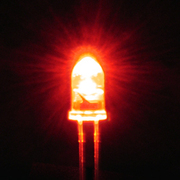 LK-3RD 3mmLED 赤 [電気工作]