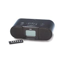 SCD1501i (ブラック) [iPod充電・再生対応 目覚ましラジオ] ラジクロ