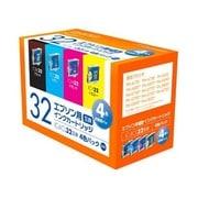 PLE-E324P [エプソンIC4CL32互換インク 4色BOXパック]