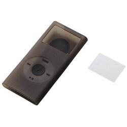 AVD-SCRANN2CRG (クリアグレー) [2nd iPod nano用 シリコンケースセット]