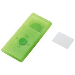 AVD-SCRANN2GN (グリーン) [2nd iPod nano用 シリコンケースセット]