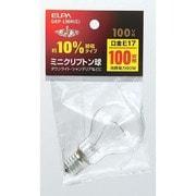 GKP-L90H/C [白熱電球 ミニクリプトン球 E17口金 100V 100W形(90W) 45mm径 クリア]