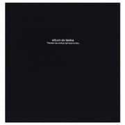 アH-LD-191-D [フエルアルバムDigio ドゥ ファビネ 100年台紙 Lサイズ ブラック]