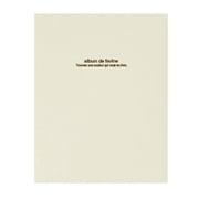 アH-A4D-161-W [フエルアルバムDigio ドゥ ファビネ 100年台紙 A4サイズ ホワイト]