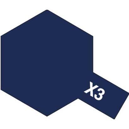 81503 [アクリルミニ X-3 ロイヤルブルー 光沢]