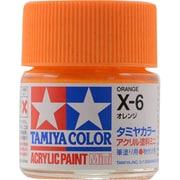 81506 [アクリルミニ X-6 オレンジ 光沢]