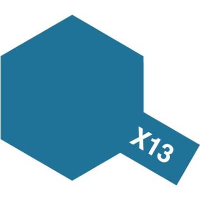 81513 [アクリルミニ X-13 メタリックブルー 光沢]