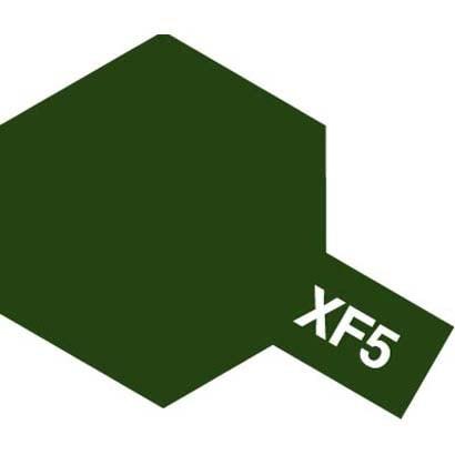 81705 [アクリルミニ XF-5 フラットグリーン つや消し]