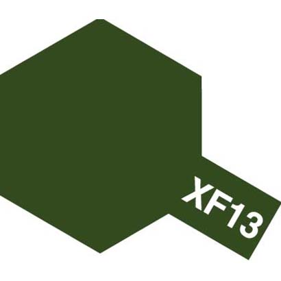 81713 [アクリルミニ XF-13 濃緑色 つや消し]