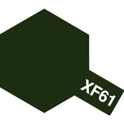 81761 [アクリルミニ XF-61 ダークグリーン つや消し]