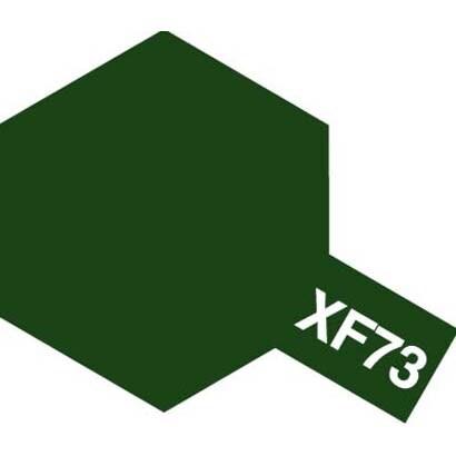 81773 [アクリルミニ XF-73 濃緑色(陸上自衛隊) つや消し]
