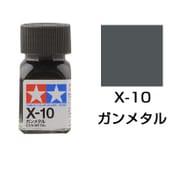 80010 [タミヤカラー エナメル塗料 X-10 ガンメタル 光沢]