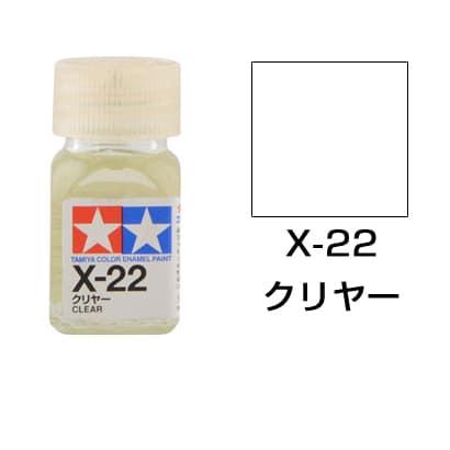 80022 [タミヤカラー エナメル塗料 X-22 クリヤー 光沢]