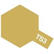 85003 [タミヤカラースプレー TS-3 ダークイエロー つや消し]