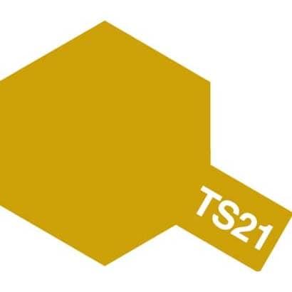 85021 [タミヤカラースプレー TS-21 ゴールド]