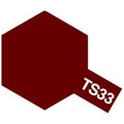 85033 [タミヤカラースプレー TS-33 ダルレッド つや消し]