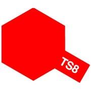 85008 [タミヤカラースプレー TS-8 イタリアンレッド]