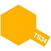 85034 [タミヤカラースプレー TS-34 キャメルイエロー]