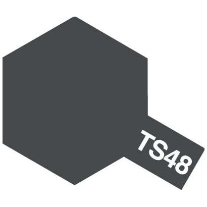85048 [タミヤカラースプレー TS-48 ガンシップグレイ つや消し]