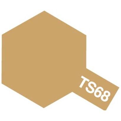 85068 [タミヤカラースプレー TS-68 木甲板色 つや消し]