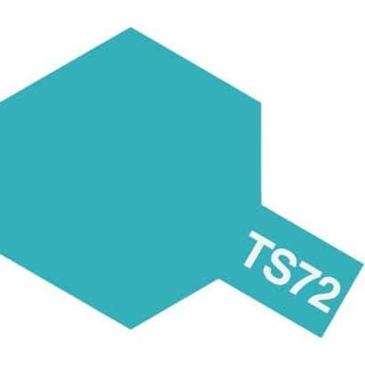 85072 [タミヤカラースプレー TS-72 クリヤーブルー]