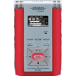 R-09R(レッド) [24bit WAVE/MP3 レコーダー]