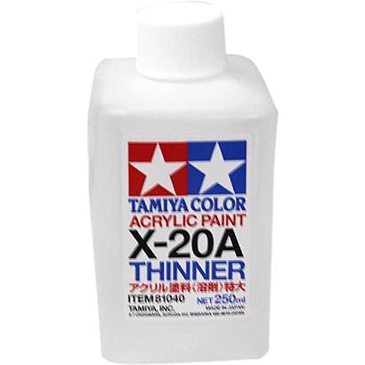 81040 [タミヤカラー アクリル塗料 溶剤 特大 光沢 250mL]