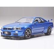 24258 1/24 ニッサン スカイライン GT-R VスペックII (R34) [1/24 スポーツカーシリーズ]