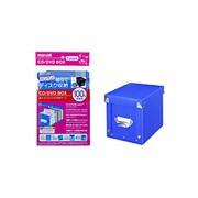 HF30-100BOX(BL) (ブルー) [組立式CD/DVDケース 100枚収納]