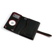 TUN-IP-300016 (ブラックレザー/レッドスティッチ) [iPod nano(1st/2nd)用 キャリングケース] PRIE TUNEWALLET micro B/R