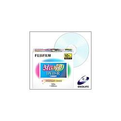VDRP120LAX10 M 8X [DVD-R 120分 8倍速対応 インクジェットプリンタ対応 カラーミックス 10枚入り 5mmケース]