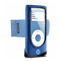 DLO-IP-000052 (ブルー) [iPod nano(1st/2nd)用 アクティブケース] Action Jacket nano ブルー