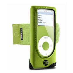 DLO-IP-000053 (グリーン) [iPod nano(1st/2nd)用 アクティブケース] Action Jacket nano グリーン