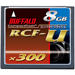 RCF-U8G [コンパクトフラッシュ 高速300倍速 8GB]
