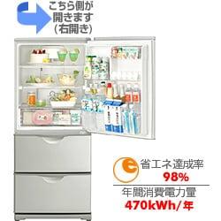 冷蔵庫(255L・右開き) SR-261M-S(シャインシルバー)