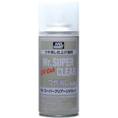 B523 [Mr.スーパークリアー 溶剤系スプレー UVカット つや消し]