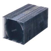 FCD-U50BKN [DVD/CDケース 50枚入り ブラック]