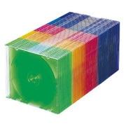 FCD-U50MXN [DVD/CDケース 50枚入り 5色ミックス]