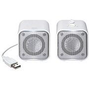 MM-SPS2UWH [PC用スピーカー USB接続 ホワイト]