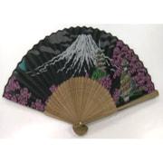 シルク扇子 富士山・舞妓・五重塔