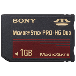 MS-EX1G [メモリースティック PRO-HG デュオ 1GB]