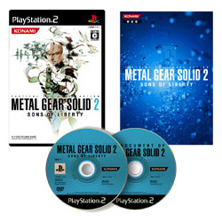 METAL GEAR 20th ANNIVERSARY METAL GEAR SOLID 2 SONS OF LIBERTY [PS2ソフト]