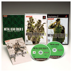 METAL GEAR 20th ANNIVERSARY METAL GEAR SOLID 3 SNAKE EATER [PS2ソフト]