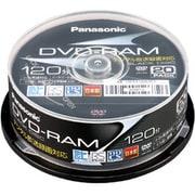 LM-AS120L20Y [録画用DVD-RAM 120分 2-3倍速 CPRM対応 20枚 ハードコート仕様 ヨドバシカメラオリジナル]