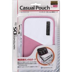 カジュアルポーチ ピンクホワイト [DS Lite用]