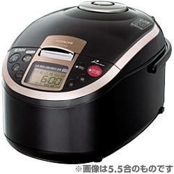 圧力IH炊飯器(1升炊き) RZ-GV180J-K(鉄(くろがね)) 打込み鉄釜 圧力スチーム極上炊き