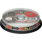D+R85PWB10PS [DVD+R 片面2層 8.5GB 8倍速対応 インクジェットプリンタ対応 ポットケース入り 10枚]