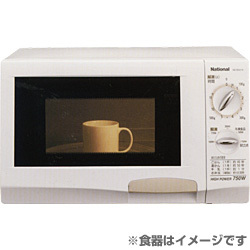電子レンジ(21L) 60Hz(西日本地域対応) ホワイト [電子レンジ(21L・60Hz 西日本地域対応) ホワイト]