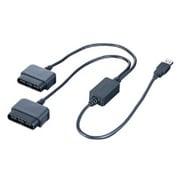 BGCUPS203BKA [USB2.0/1.1対応 振動機能対応 ゲームパッドコンバータ 2ポートモデル ブラック]