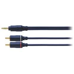 AT361A/2.0 [ゴールドリンク GOLDLINK オーディオ変換ケーブル ステレオミニプラグ-ピンプラグ×2 2m ベーシックグレード]